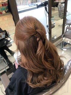half up half down. Half Up Half Down, Twists, Curls, Dreadlocks, Hair Styles, Beauty, Chunky Twists, Hair Plait Styles, Hair Makeup