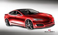 Saleen Automotive Plans Orange County–Aggro Tesla Model S