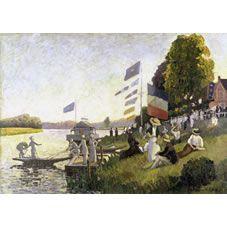 1Wall Claude Monet Water Scene Wallpaper Mural at wilko.com