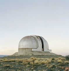 """Astronomical observatory, Patagonia, Argentina. From """"New End,"""" Olaf Unverzart, 2006"""