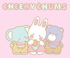 AWWW!! FAIRY KEI HEAVEN! :D Cherry Chums 1979 Sanrio Characters.