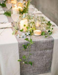 Photophore pour chemin de table - Le photophore, le secret d'une décoration cosy - Elle
