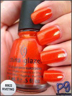 Polish Galore: China Glaze Riveting