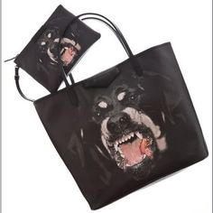 Buy Vogue Lovely Dog Special Three-piece Bag Black with cheapest... via Polyvore