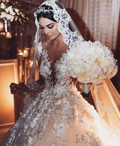32 simple and unique Charro wedding dress ideas Luxury Wedding Dress, Fall Wedding Dresses, Bridal Dresses, Wedding Gowns, Wedding Dress With Veil, Wedding Bride, Tulle Wedding, Wedding Hair, Queen Wedding Dress
