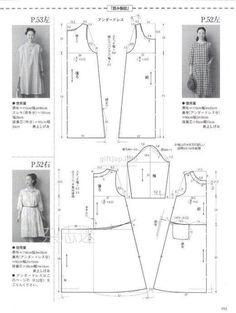 A라인 원피스 패턴