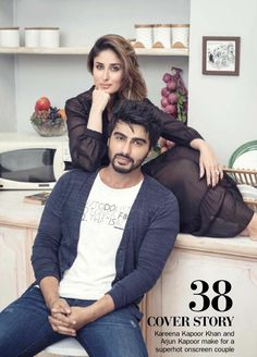 #ArjunKapoor Style  #StyleDiaries  #KareenaKapoorkhan posing for #filmfare magazine..looks adorably cute..perfect  .