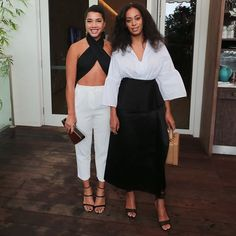 Hannah Bronfman and Solange