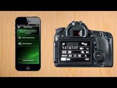 Canon 70D tip #3: Connect to iPhone via Wifi - YouTube