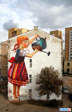 26 Street Arts With Nature - http://www.decorationous.com/decoration-ideas/26-street-arts-with-nature.html