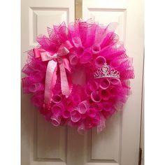 Princess Wreath on Etsy, $55.00