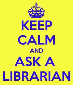 librarian 'keep calm'