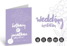 Wedding Invitation Flowers @creativework247