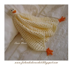 Duck or Dolly comfort blanket