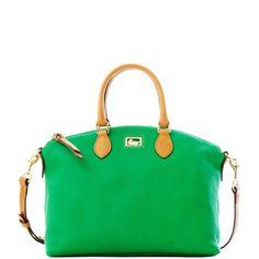 Dooney   Bourke  Dillen with Tan trim Satchel New Handbags ac25e5cfce87b