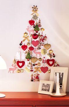 kerstboom zonder kerstboom