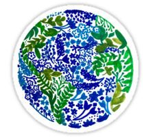 The Earth Laughs in Flowers Sticker