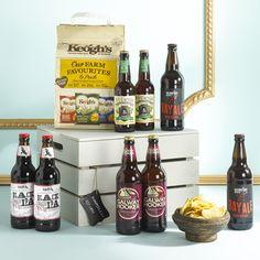 Irish Craft Beer Gift Crate  https://hampersandco.com