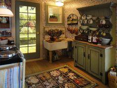 Pat's miniatures - Stone Cottage