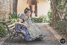 Silvia Parrizas Fallera Mayor 2017 en los Jardines de Monforte en Valencia