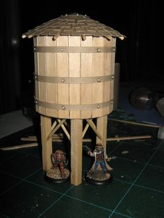Rob Jedi's Miniatures Blog: Western Water Tower