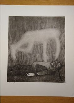 Etching Harry van Kruiningen