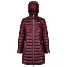 Durable water repellent finish, ultra warm and super soft atom light insulationLightweight fillInner zip guard and 2 lower pocketsColour: Dark RedComposition: PolyamideCare: Machine Washable