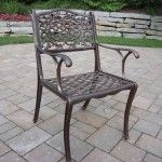 Oakland Living - Mississippi Dining Arm Chair - 2012-AB  SPECIAL PRICE: $197.00