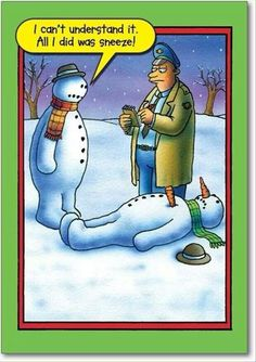 snowman humor