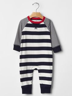 Stripe one-piece Product Image