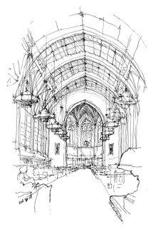 urban sketchers seattle | Nine drawings done in two hours and twenty-five minutes.
