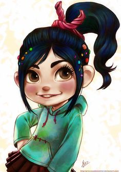 Wreck-it Ralph: Vanellope von Schweetz by princesselemmiriel