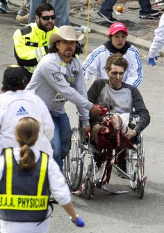 NESARA- REPUBLIC RESTORED - Galactic News: Pictures that Prove Double Amputee was an Actor at Boston Bombings