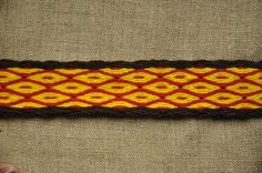 Tablet Weaving Tablet Woven Card Woven Braid Belt by AstridReco
