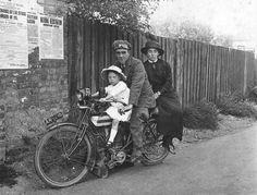 1912 Triumph TT Roadster Classic Motorcycle