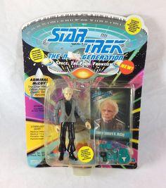 Star Trek TNG Admiral Leonard H McCoy Action Figure 1993 Playmates NIP Unpunched #PlaymatesToys