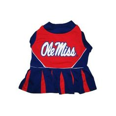 Pets First Mississippi University Dog Cheerleader Outfit, Medium [Misc.]