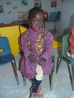 niña saharaui en guarderia