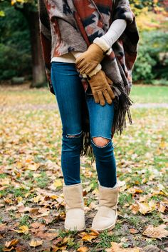 Classics and our cozy gloves. Could it be any more fall?!