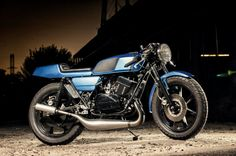 1976 Yamaha RD400 - page 1 - Cafe Racers - DO THE TON