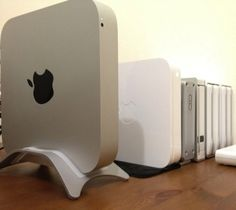 NuStand For #Mac Mini – $20 / Newer Technology NuStand Alloy: Desktop Stand for Apple Mac mini 2010, 2011, or 2012 model. http://thegadgetflow.com/portfolio/nustand-for-mac-mini/