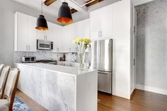 Before & After: A Sophisticated Apartment Kitchen Remodel | Apartment Therapy