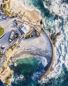 Stunning view of La Jolla Cove #LaJolla
