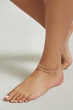 Chain Anklet Set