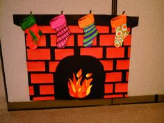 Paper Fireplace by fennec1234, via Flickr