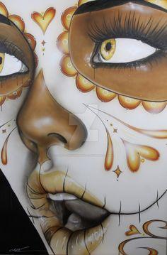 'Dia de los Muertos' by christianchapmanart on DeviantArt