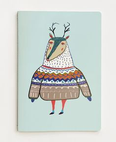 Deer of Ashley Percival now on JUNIQE! Notebook Art, Freelance Illustrator, Uk Shop, Deer, Stationery, Graphics, Artwork, Gifts, Stuff To Buy