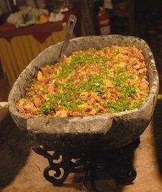 Receita de feijo tropeiro (Foto: Divulgao / Casa dos Contos)