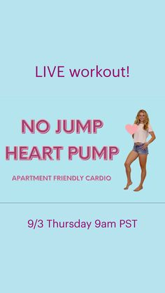 Fitness Tips, Fitness Motivation, Heart Pump, Weight Training, Strength Training, Workout Videos, At Home Workouts, Cardio, Healthy Lifestyle