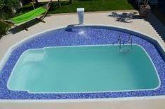 piscina de fibra com praia em alvenaria - Pesquisa Google